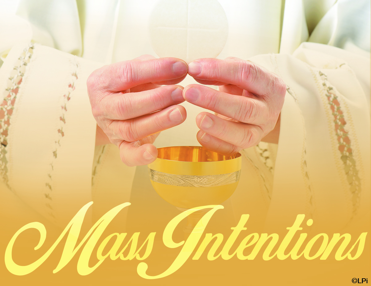 Mass Intentions - Mary Our Queen Church